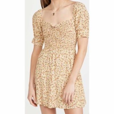 フェイスフルザブランド FAITHFULL THE BRAND レディース ワンピース ミニ丈 ワンピース・ドレス Dulcia Mini Dress LA REVERIE FLORAL P