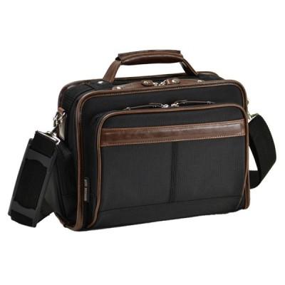 ビジネスバッグ 仕事 メンズ  出張 通勤 B5 ジャーメインギア フチ巻きビジネスシリーズ B5 ブラック 33683   人気