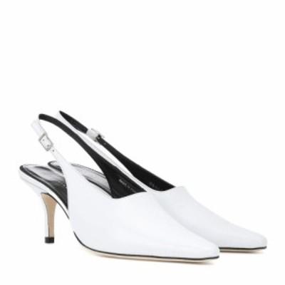 ドラティムール Dorateymur レディース パンプス シューズ・靴 Groupie II leather slingback pumps White