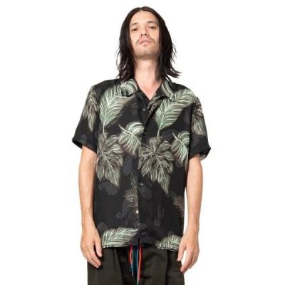 シャツ ブラウス Double layered leaf SH / ダブルレイヤードリーフシャツ