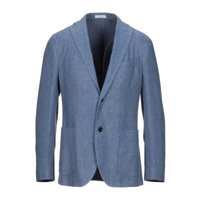 ボリオリ BOGLIOLI テーラードジャケット パステルブルー 50 シルク 55% / ウール 45% テーラードジャケット