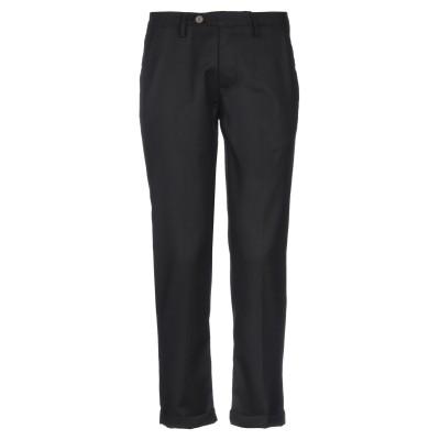 RHETRO パンツ ブラック 34 ポリエステル 65% / レーヨン 32% / ポリウレタン 3% パンツ