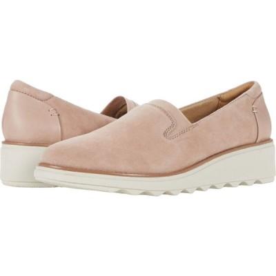クラークス Clarks レディース ローファー・オックスフォード シューズ・靴 Sharon Dolly Dusty Pink Suede