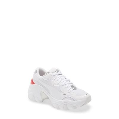 プーマ レディース スニーカー シューズ Pulsar Wedge Tech Glam Sneaker WHITE