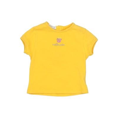 MUFFIN & CO. T シャツ イエロー 1 コットン 95% / ポリウレタン 5% T シャツ
