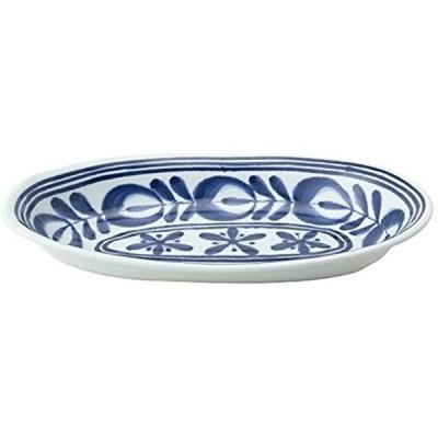 波佐見焼 モダンブルー カレー鉢 3個セット 12367