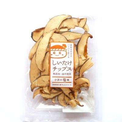 サンエスファーム しいたけチップス 小浜の塩味 12g×2袋セット (同梱不可)