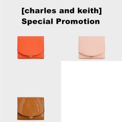 [charles and keith]プッシュロック ミニウォレット / Push-Lock Mini Wallet CK6-10770434