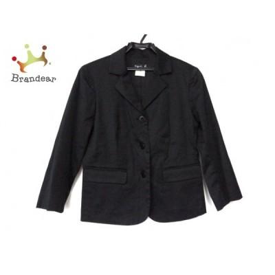 アニエスベー agnes b ジャケット サイズ36 S レディース 黒   スペシャル特価 20201209