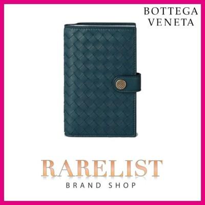 ボッテガヴェネタ BOTTEGA VENETA 財布 中財布 2つ折り 二つ折り ブライトン ガンメタル レザー 本革