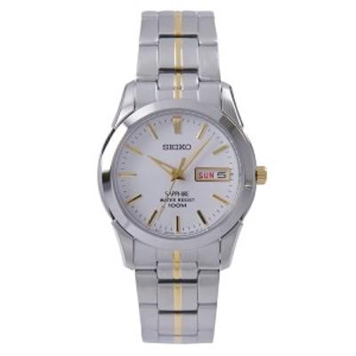 セイコー SEIKO 腕時計 クオーツ 日本製ムーブメント 海外モデル ホワイト文字盤 サファイアガラス SGG719P1 メンズ [逆輸入品]