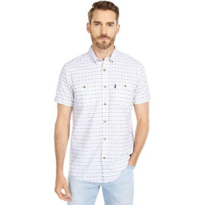 リップカール Rip Curl メンズ 半袖シャツ トップス Eyecat Short Sleeve Shirt White