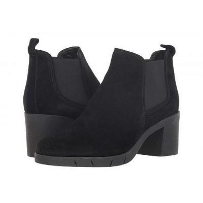 The FLEXX レディース 女性用 シューズ 靴 ブーツ アンクルブーツ ショート Speak Out - Black Waterproof Suede