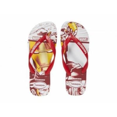Havaianas ハワイアナス メンズ 男性用 シューズ 靴 サンダル Top Marvel Sandal Red【送料無料】