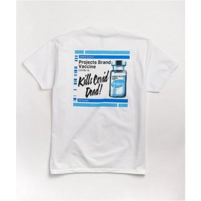 ブルックリン プロジェクト BROOKLYN PROJECTS メンズ Tシャツ トップス Brooklyn Projects The Cure White T-Shirt White