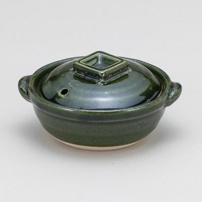 和食器 土鍋 織部4.0鍋 万古焼 お鍋 直火 食器 おうち ごはん あったか 陶器