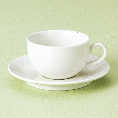 和食器 洋風粉引カプチーノ カップソーサー 珈琲 紅茶 カフェ おしゃれ 陶器 うつわ おうち 軽井沢 春日井 ギフト