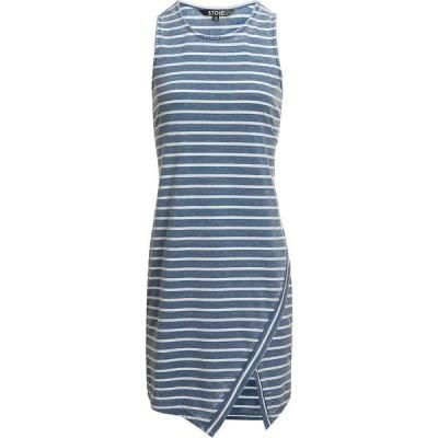 ストイック レディース ワンピース トップス Stripe Sleeveless Dress