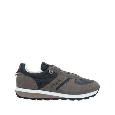 ETONIC スニーカー&テニスシューズ(ローカット) 鉛色 41 革 / 紡績繊維 スニーカー&テニスシューズ(ローカット)