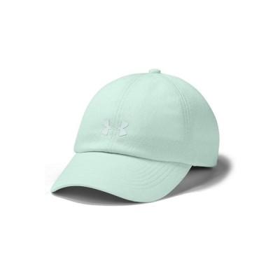 アンダーアーマー 帽子 アクセサリー レディース Women's Play Up Jacquard Cap Seaglass