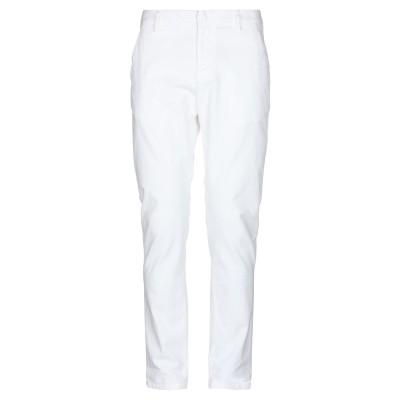 ドンダップ DONDUP パンツ ホワイト 34 コットン 98% / ポリウレタン 2% パンツ