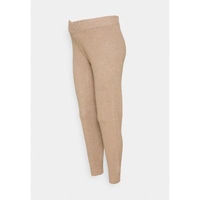 ピーシーズ マタニティ カジュアルパンツ レディース ボトムス PCMSALSA  PANTS - Trousers - natural melange