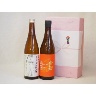 年に一度の醸造日本酒贈り物2本セット(ひやおろし低温貯蔵完熟純米 金鯱 完熟ひやおろし本醸造) 720ml×2本
