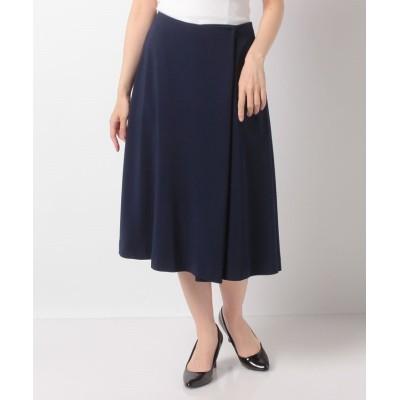 【アルカリ】 Pe/二重織りスカート レディース ネイビー 3 alcali