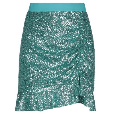 インペリアル IMPERIAL ひざ丈スカート ターコイズブルー XS ポリエステル 97% / ポリウレタン 3% ひざ丈スカート