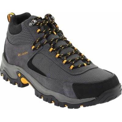 コロンビア メンズ ブーツ・レインブーツ シューズ Men's Columbia Granite Ridge Mid Waterproof Hiking Boot Dark Grey/Golden Yellow