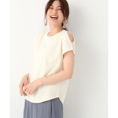 tシャツ Tシャツ ハリヌキカタスリットプルオーバー半袖/837593