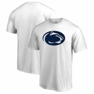 Fanatics Branded ファナティクス ブランド スポーツ用品  Fanatics Branded Penn State Nittany Lions White Primary Logo T-Shirt