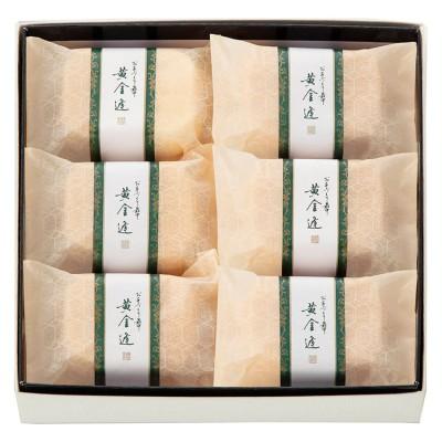 菓匠 清閑院 ☆お手作り最中 黄金逢6個入