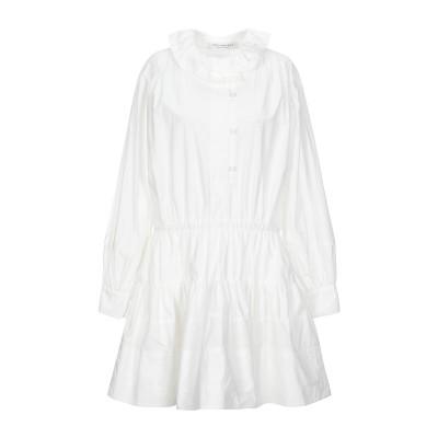 フィロソフィ ディ ロレンツォ セラフィニ PHILOSOPHY di LORENZO SERAFINI ミニワンピース&ドレス ホワイト 42 コ