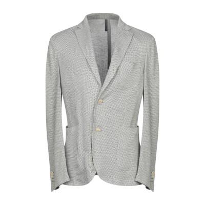 MONTEDORO テーラードジャケット グレー 52 コットン 54% / 麻 42% / ナイロン 4% テーラードジャケット