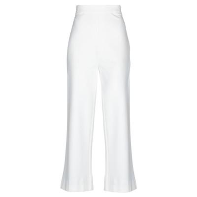 I AM ANN パンツ ホワイト 42 レーヨン 62% / ナイロン 33% / ポリウレタン 5% パンツ