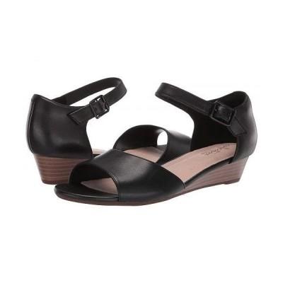 Clarks クラークス レディース 女性用 シューズ 靴 ヒール Abigail Jane - Black Leather