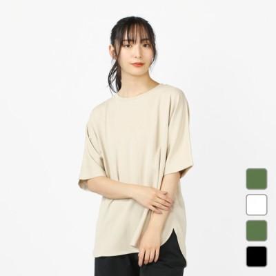 TIGORA SMART ティゴラ レディース 半袖Tシャツ ハイブリッドクールクルーネックTシャツ TR-9C2451TS 0529T