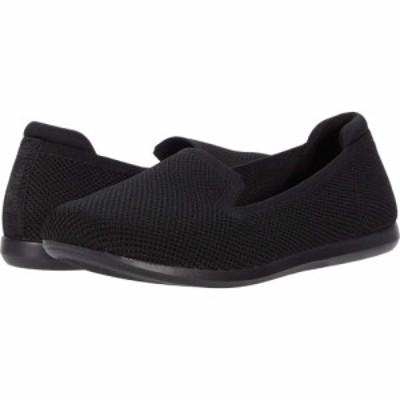 クラークス Clarks レディース シューズ・靴 Carly Dream Black Solid Knit