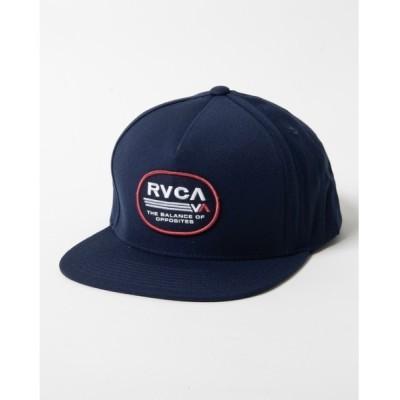SUBURB / RVCA メンズ ELLIPTIC SNAPBACK キャップ【2020年秋冬モデル】/ルーカ 帽子 キャップ MEN 帽子 > キャップ