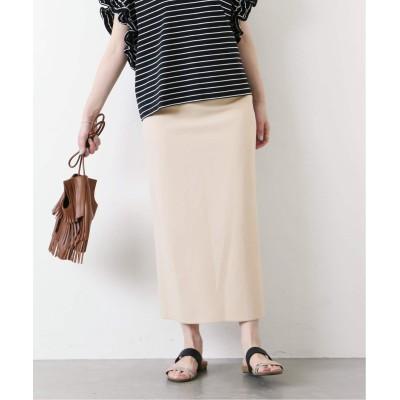 レディース ジャーナルスタンダード ジョーゼットポンチタイトスカート◆ ホワイト B 38