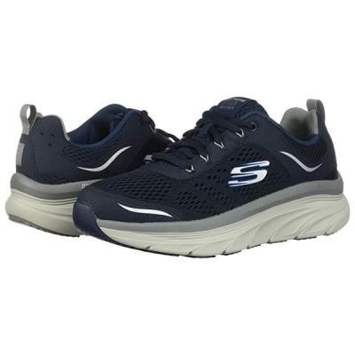 スケッチャーズ D'Lux Walker メンズ スニーカー 靴 シューズ Navy/Gray