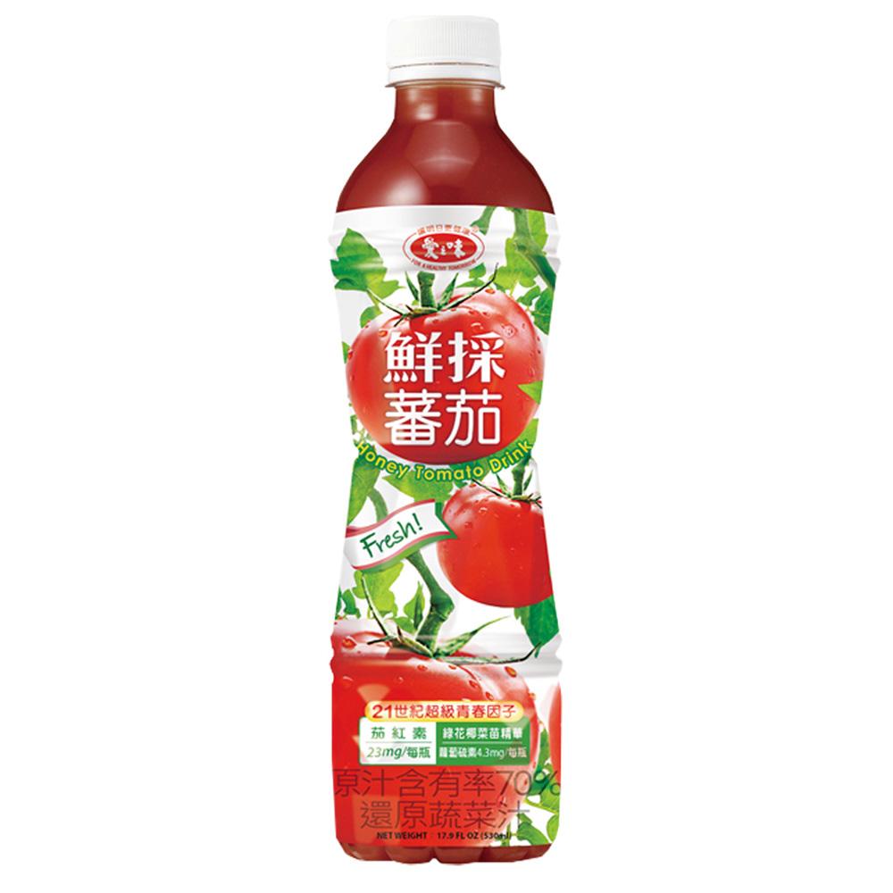 鮮採蕃茄綜合蔬菜汁升級配方 530ml