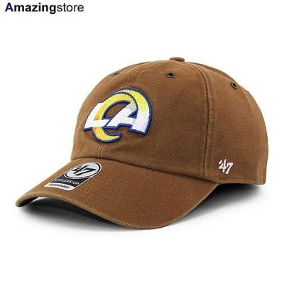 47ブランド カーハート ロサンゼルス ラムズ 【CARHARTT NFL CLEAN UP STRAPBACK CAP/BROWN】 47BRAND LOS ANGELES RAMS