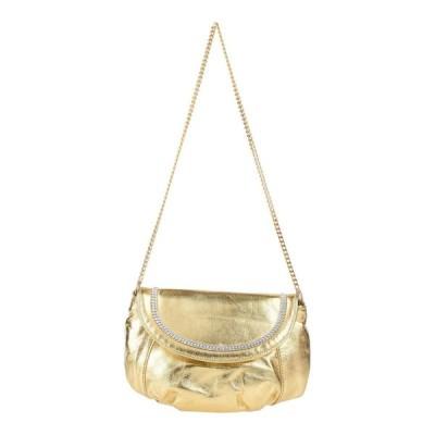 STELE レディース ハンドバッグ 鞄 ゴールド