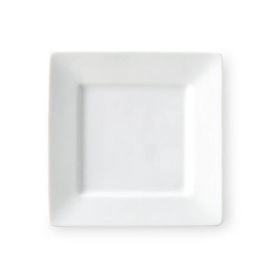 テトラ 18cm正角皿 白い食器 cafe カフェ 食器 業務用 日本製