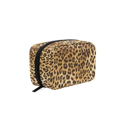 BEETTY Makeup Bag Leopard Print Cosmetic Bag Cosmetic Pouch Portable Toilet