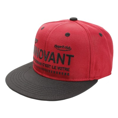 デュアリグ帽子3D-EMBROIDERY BB キャップ 899D8ST9016 REDレッド