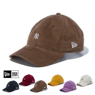 ニューエラ キャップ 帽子 コーデュロイ NEW ERA  920 NEYYAN MICRO CORDUROY CAP  ニューヨーク・ヤンキース マイクロコーデュロイ 125408249TWENTY 0815