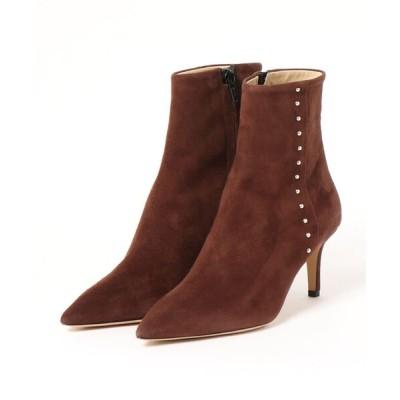 FABIO RUSCONI / FABIO RUSCONI(ファビオ ルスコーニ)/ポインテッドトゥ スタッズ ミドルブーツ WOMEN シューズ > ブーツ